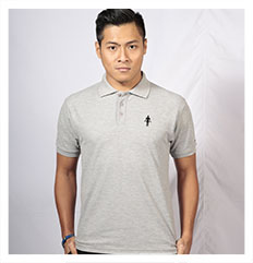 Polo Shirt A Male Grey